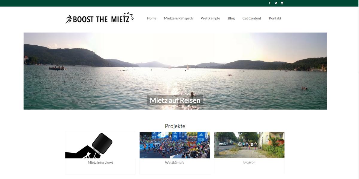 boost the mietz