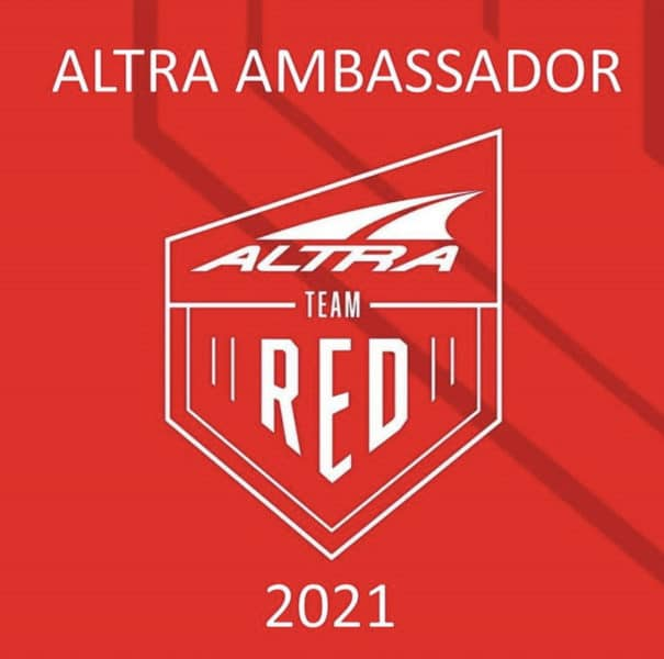 Altra Running Team Red Ambassador